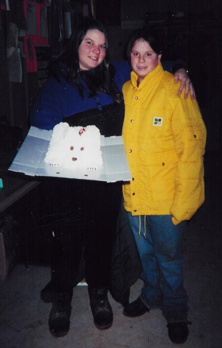 Happy Birthday to Rachel from Andréa Dunmire!