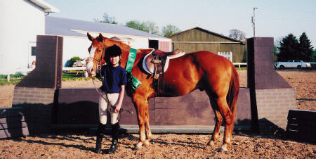 April Equitation Classic Finals with Joanna Hagen, 2001