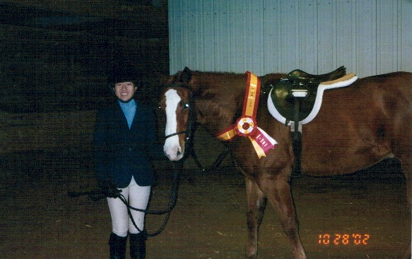 October Equitation Classic Finals with Joanna Hagen, 2002