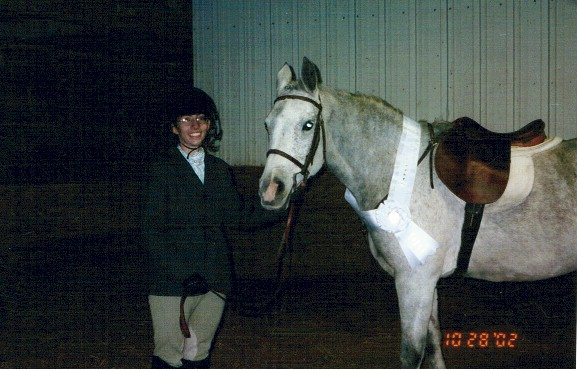 Leslie Sommer won 4th Place in the 2002 Summer Eq. Classic Finals on Dorothy