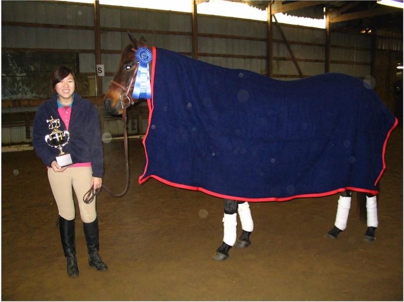 Joanna and Gracie - a winning team