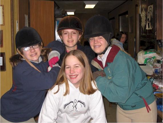 Left: Frankie Byczynski;  Top: Allie Armetta;  Right:  Ellen Reeder;  Bottom: Mary DeWilde