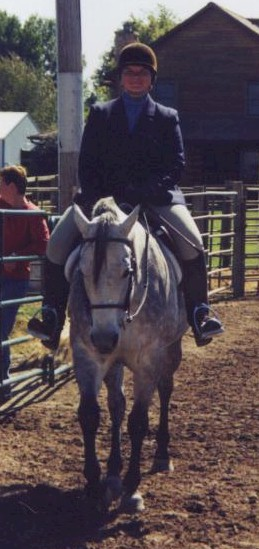 Holly won all of her under saddle classes; in fact, she won all of her classes at this show