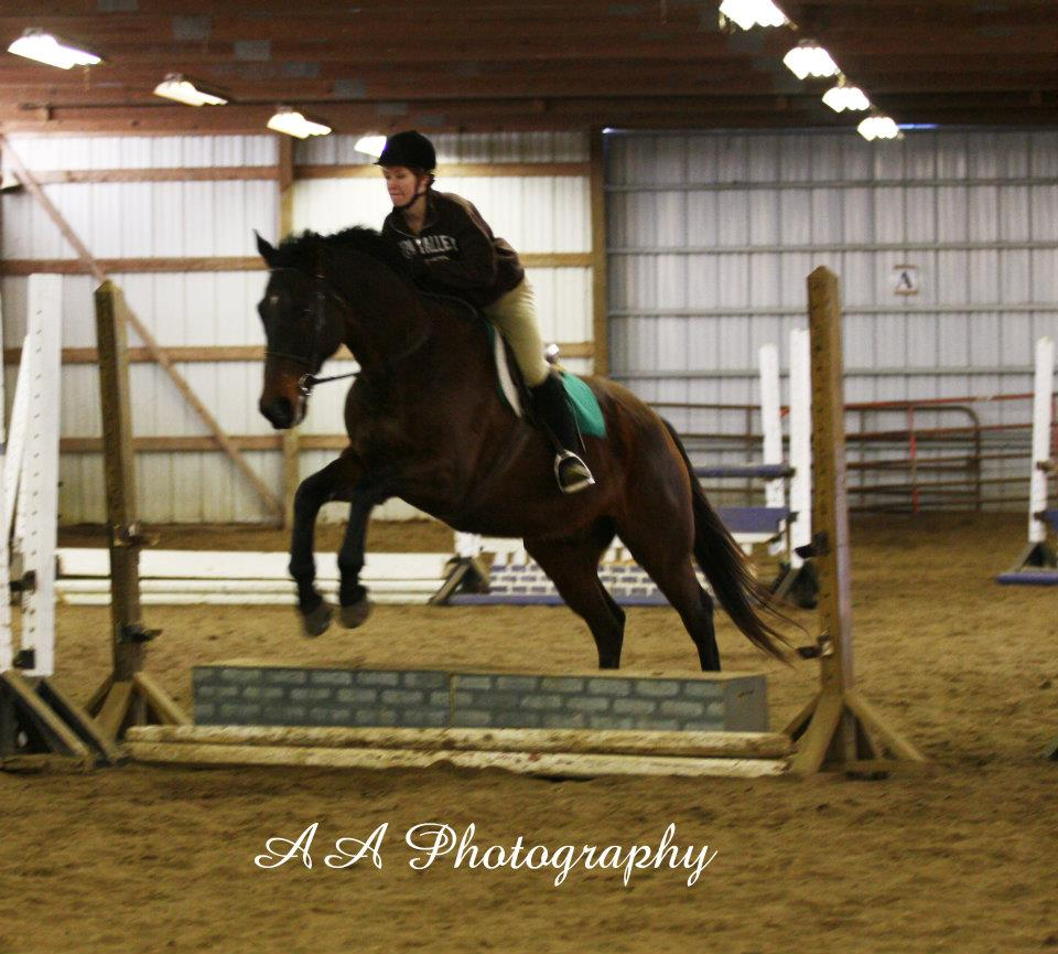 Allison Schaley showing Calvin Feb 2012