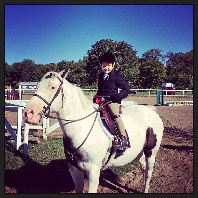 Claire Saklar and Monty at Claire's first show