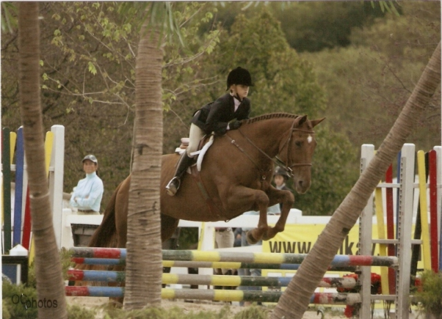 Savannah Chapman riding Rock Solid at IHJA A Circuit Medal Finals