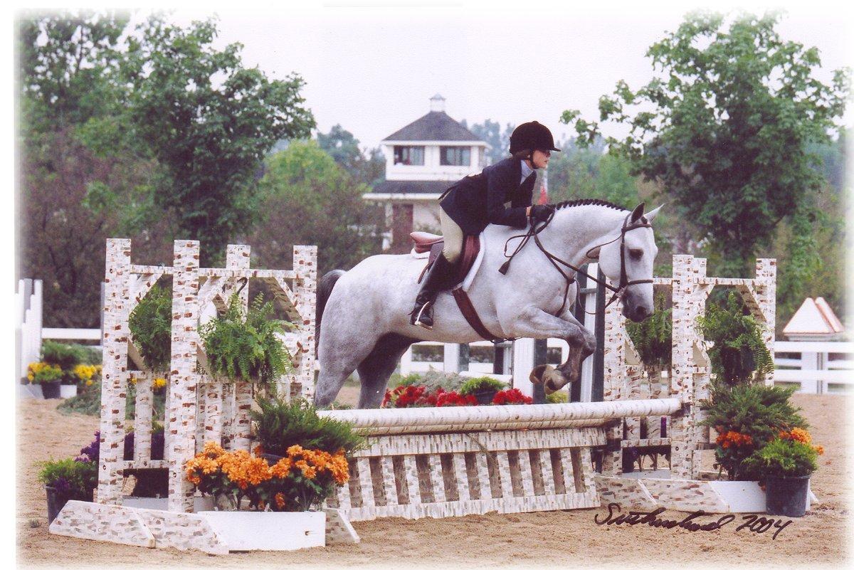 Isaac showing at Lamplight, 2004