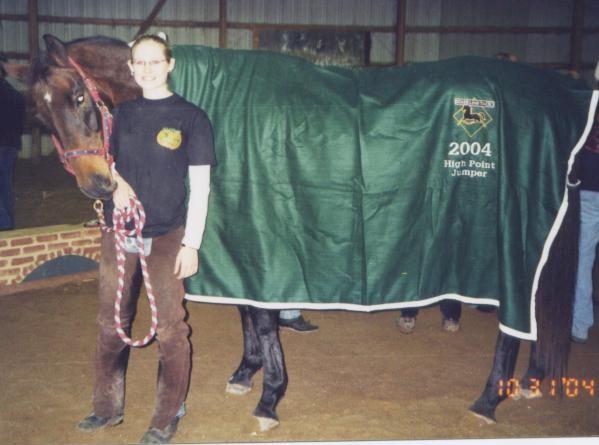 2004 High Point Jumper Rider Laura Siroky