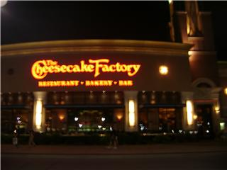 This is the primary attraction of Des Moines.  We literally ate dinner at the Cheeseake Factory every night.
