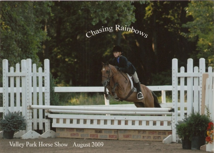 Savannah Chapman showed her pony Melanie in the Green and Regular Small Pony divisions
