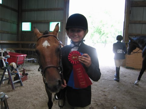 Savaanh Chapman seems more pleased with the placings than Melanie is