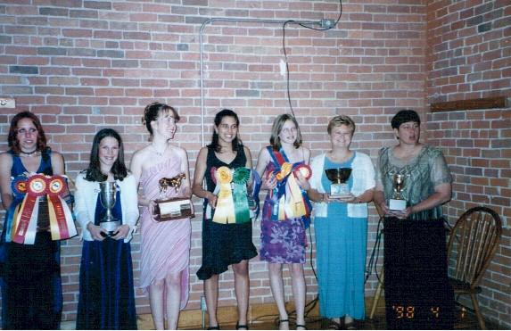 2002 Trophy Winners