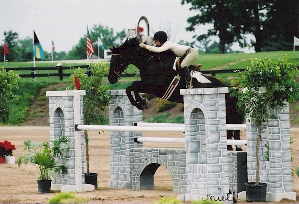 Junior/Amateur Jumpers in Kentucky, June 2004
