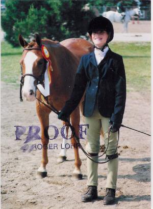 Beyond The Rainbeau was Reserve Champion Medium Pony Hunter