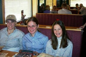 (from left): Allison Weir, Annie Rybak, and Lesley Quillen