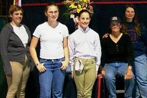 (from left): Allison Weir, Annie Rybak, Lesley Quillen, Jan Rock, and Rachel Rock